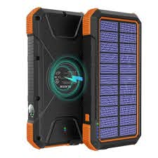 Solar Charger & Battery Bank
